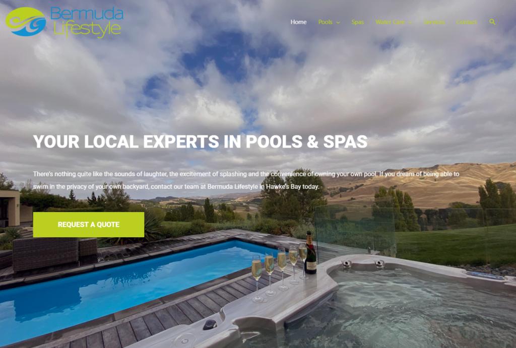 Bermuda Lifestyle Pools & Spas Hastings HB